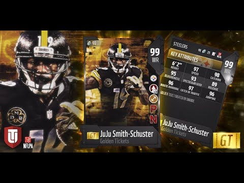 Madden 18 New Golden Ticket Players Tomorrow 99 Overall Juju Smith-Schuster And Quincy Wilson