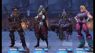 Overwatch Halloween Terror 2017 - ALL SKINS AND ITEMS (DRAGON ...