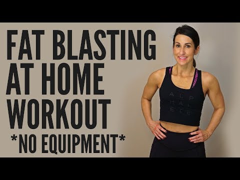 Fat Blasting Home Workout *No Equipment