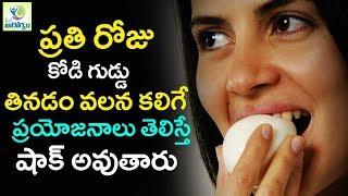 Top  Benefits Of Eating Eggs Daily - Mana Arogyam Telugu Health Tips