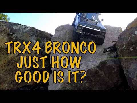 Traxxas TRX-4 Bronco tested