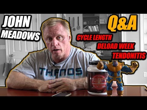 Q & A | Cycle Length | Deload Week | Get Bigger triceps