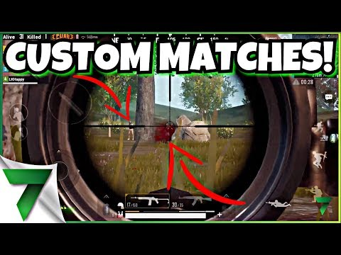 CUSTOM MATCHES WITH PRO PLAYERS!!   PUBG MOBILE