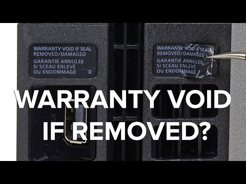 Remove All Your Warranty Void Stickers!!! (But Send Us Pictures First)