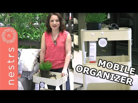 IKEA Organization Ideas - Multiple Uses for IKEA's Raskog Cart | Nestrs