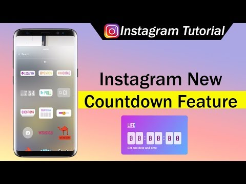 Instagram New Countdown Feature