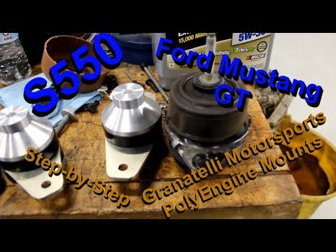 Best Ford Mustang Motor Mounts Ever Made!!!