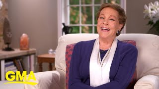 Julie Andrews reflects on movie romance scenes and marriage, Part 2 l GMA