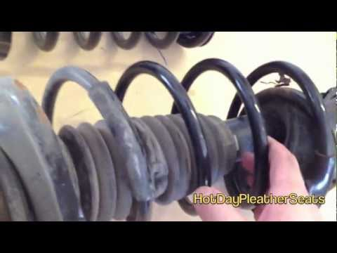 How To Suspension Strut Ford Focus Spring Repair Replacement
