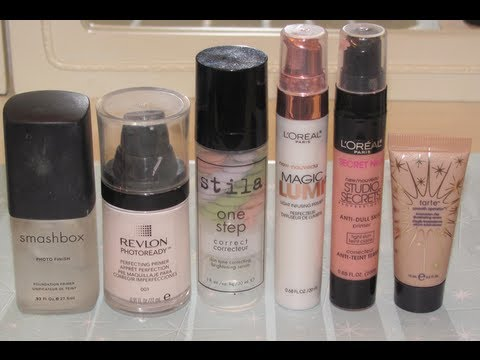 Overview of Makeup Primers!