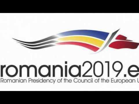 Victor Negrescu Story of the Logo for Romania 2019 May 30 2018
