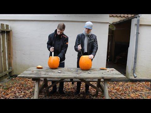 Carving Pumpkins for Halloween