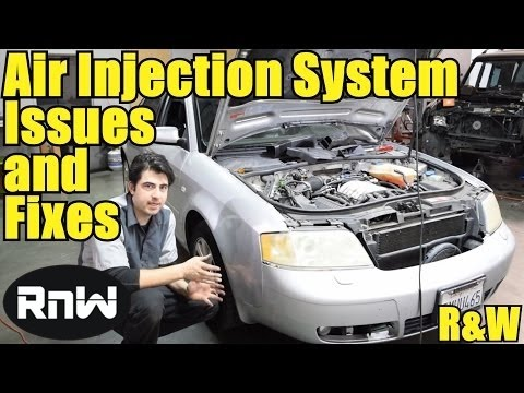 Secondary Air Injection Pump System Operation and Diagnosis - VW Passat Audi A4 A6 Mercedes Benz