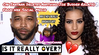 Cyn Santana Removes Everything Joe Budden Related From Her Social Media | Is It Really Over?