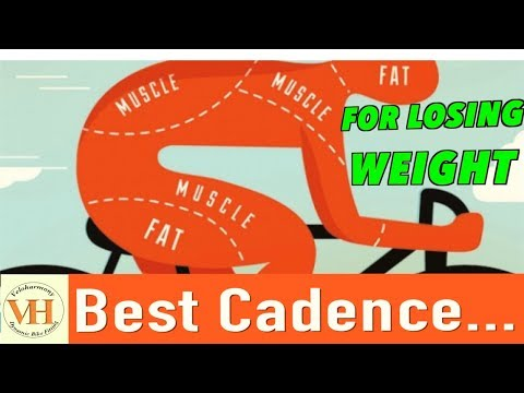 The best Cadence for losing weight | How to lose weight through cycling