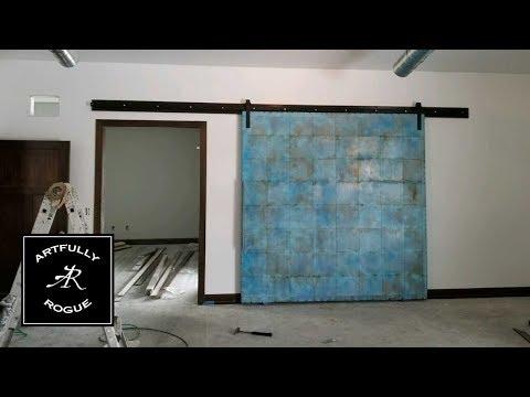 Building a Big A$$ Blue Door