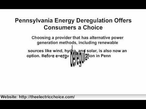Pennsylvania Energy | Pennsylvania Energy Deregulation