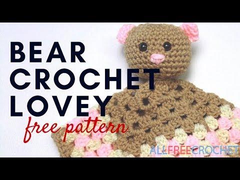 Bear Crochet Lovey Pattern