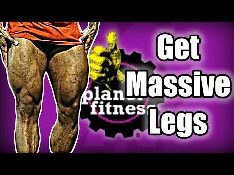 Planet Fitness Leg Workout | 4k