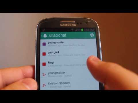 How to view your snapchats more than once