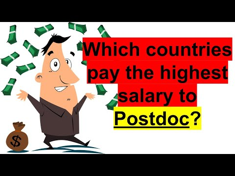Fastepo: Top 5 highest paying country for postdocs
