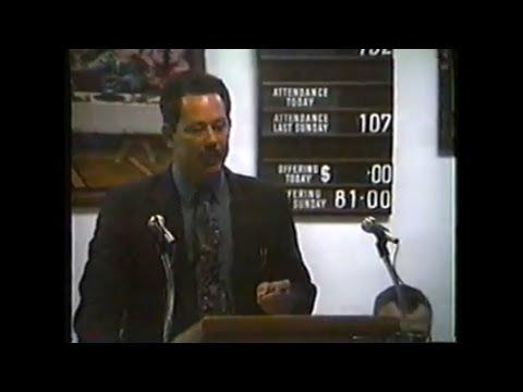 Elder Lonnie Ratliff Preaching & Good Shepherd Quartet Singing Echo United Baptist Homecoming 1993