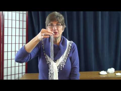 How to Work with a Necklace - Gemstone Therapy Pendulum Technique for Chakras and Target Areas