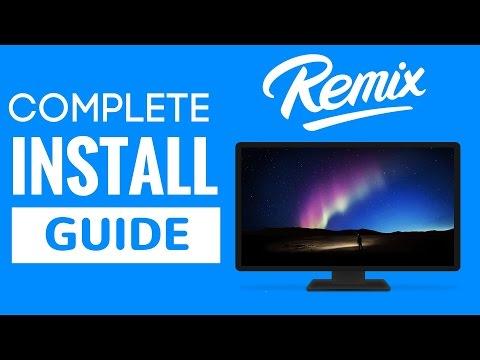 Install Remix OS On Hard Drive [No USB]