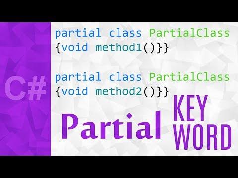 Partial Class in C# 💻 C# Partial Methods & Classes Tutorial