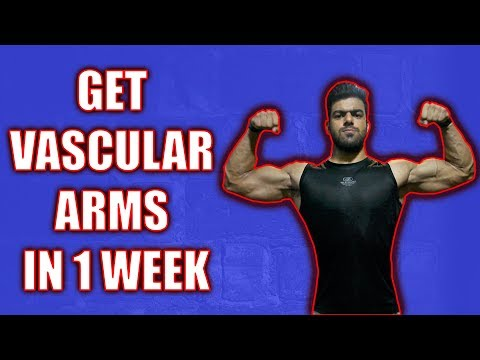 How To Get VASCULAR ARMS | 5 EASY TIPS