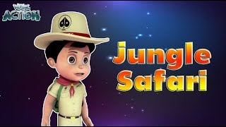 Vir: The Robot Boy | Jungle Safari | 3D Action shows for kids | WowKidz Action