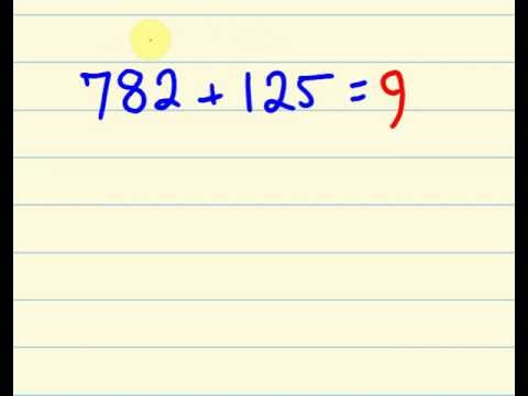 Maths trick for fast addition - add faster than a calculator!