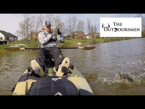 Awesome Day Of Kayak Bass Fishing In Early Spring At My SECRET Spot - The Outdoorsmen