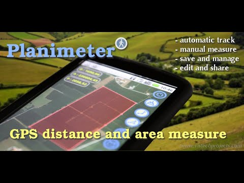 Planimeter - GPS area measure. All kinds of measurements on Google Maps using your Android.