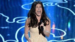 """Let It Go"" Performance at 2014 Oscars- Idina Menzel WOWS!"