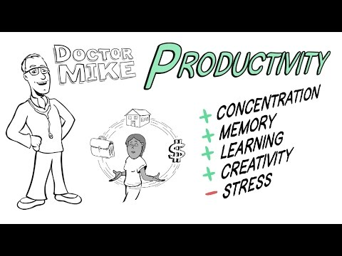 Increasing Your Productivity with Exercise