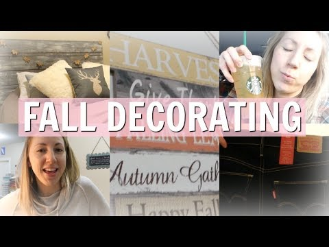 Decorating My Bedroom For Fall, Levi's Haul, My Playlist & More | VLOG