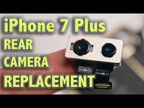 iPhone 7 Plus Rear Camera Replacement