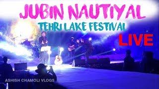 Jubin Nautiyal Live Performance Tehri Lake Festival