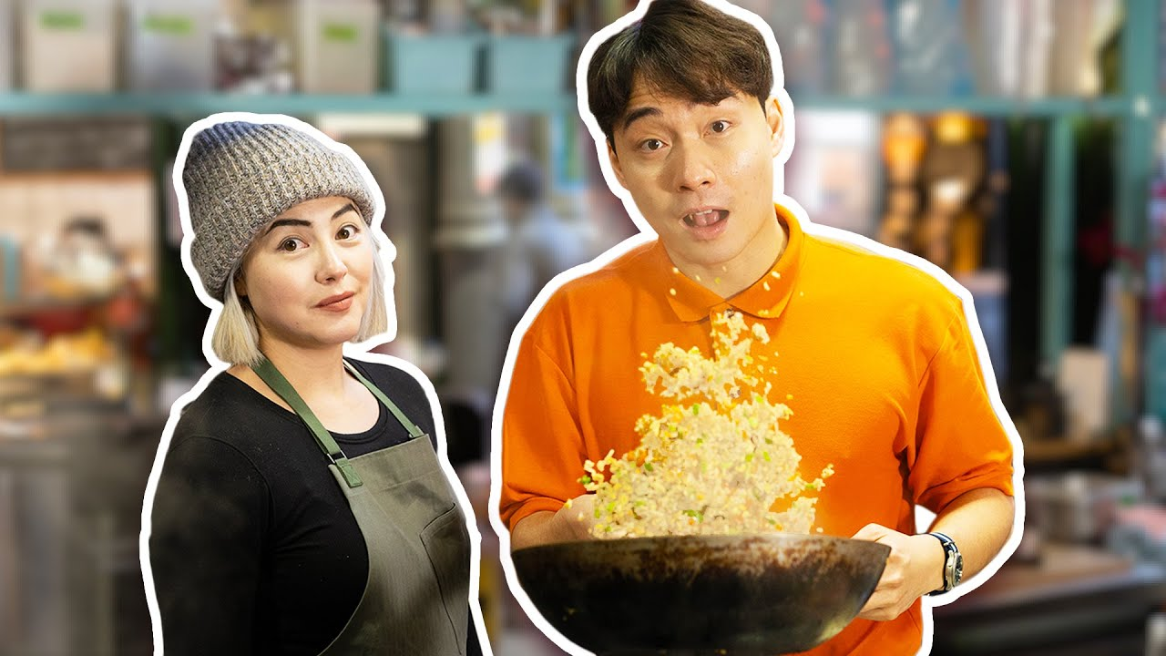 Uncle Roger MAKE EGG FRIED RICE for Michelin Star Chef