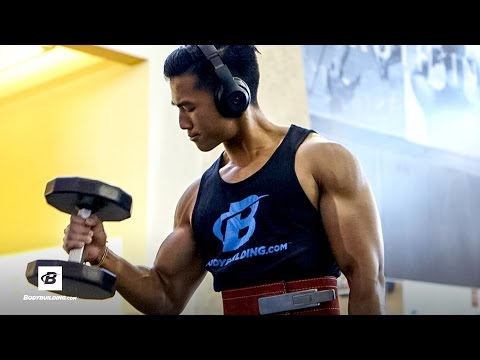 Quick Back and Biceps Attack | Jeremy Sry's Back & Arms Workout