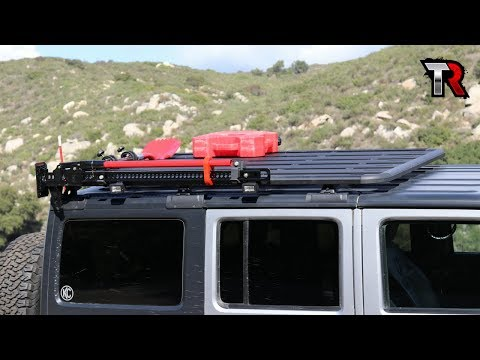 Jeep Roof Rack Installation and Review - Rhino Rack Backbone