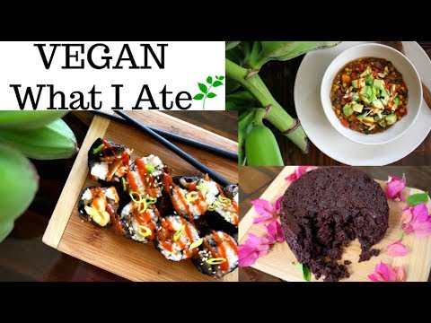 WHAT I EAT IN A DAY - VEGAN - Go-To Meals, Easy Snacks and Dessert