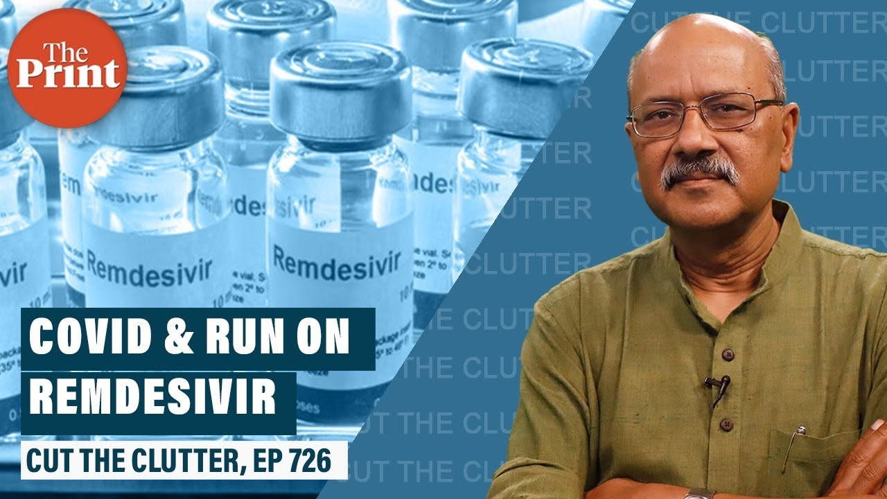 Irrational scramble for remdesivir with rising Covid, and India's chronic self-medication addiction