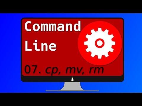 07. Linux Commands: cp, mv, rm (ADVANCED)