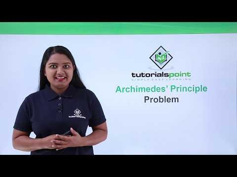 Class 9th Physics - GRAVITATION - Archimedes principle problem