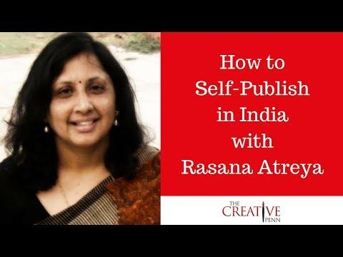 How to Self-Publish in India with Rasana Atreya