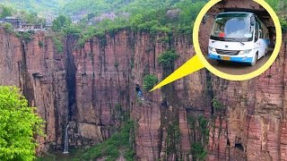 Guo Liang Cun, Very Dangerous Road, But Very Beautiful Place in China