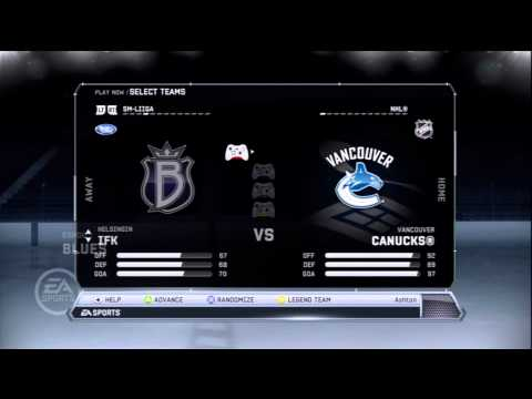 NHL 12 New Teams and Emblems