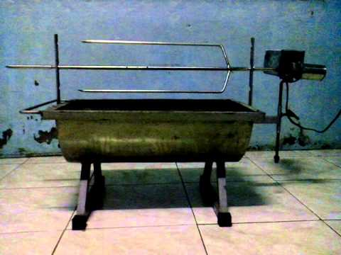 rotisserie HOME MADE GRILL LECHON 24 volts 22 rpm